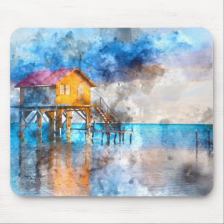 Ambergris Caye Belize Vacation Holiday Mouse Pad