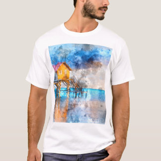Ambergris Caye Belize Vacation Holiday T-Shirt