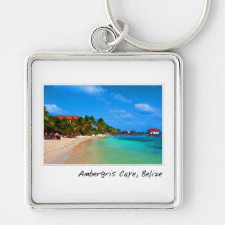 Ambergris Caye San Pedro Belice Llaveros Personalizados