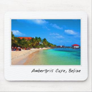 Ambergris Caye San Pedro Belize Mousepads