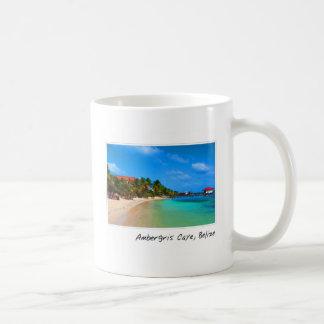 Ambergris Caye San Pedro Belize Classic White Coffee Mug