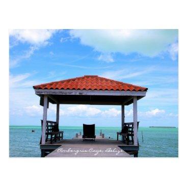 Ambergris Caye Secret Beach Postcard