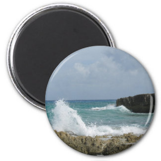 Ambers Sea Breeze 2 Inch Round Magnet