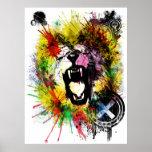 ambición de los leones poster