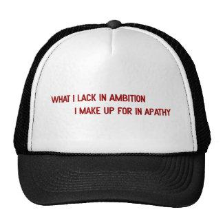 Ambición Gorras De Camionero