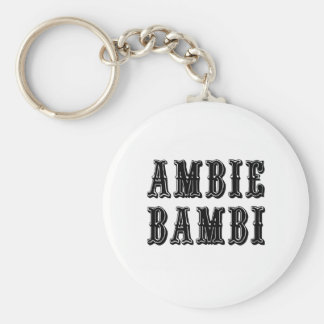 Ambie Bambi Llavero Redondo Tipo Pin