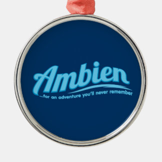 Ambien For an adventure you ll never remember Christmas Ornaments