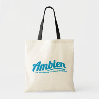 Ambien: For an adventure you'll never remember Budget Tote Bag