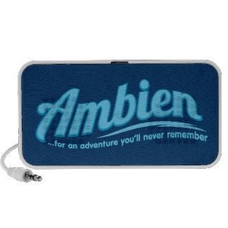Ambien: Para una aventura usted nunca recordará Altavoz De Viajar
