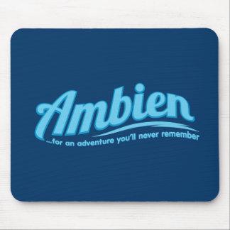 Ambien: Para una aventura usted nunca recordará Tapete De Ratón
