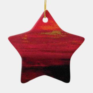 Ambience (1) ceramic ornament