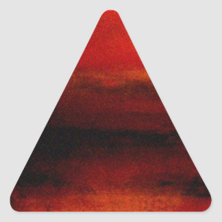 Ambience (4) triangle sticker