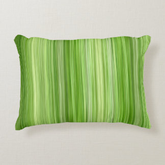 "Ambient 3 Green, Original modern design ""Key Lime"" Decorative Pillow"