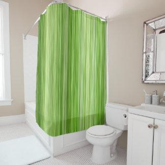 "Ambient 3 Green, Original modern design ""Key Lime"" Shower Curtain"