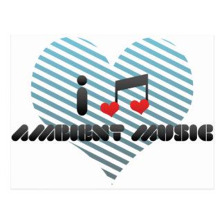 Ambient Music Postcard