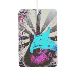 Ambientador de aire de la guitarra eléctrica