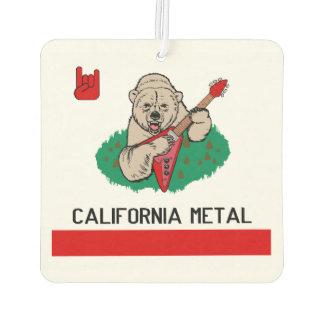 AMBIENTADOR DE AIRE DEL METAL DE CALIFORNIA