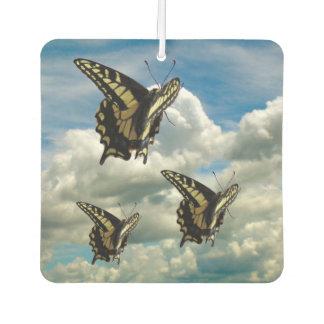 Ambientador de aire - mariposas de Swallowtail en