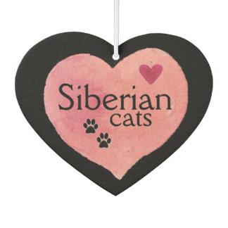 Ambientador de aire siberiano del coche del gato