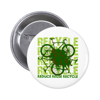 Ambiental recicle pin redondo 5 cm