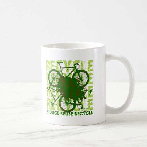 Ambiental recicle taza