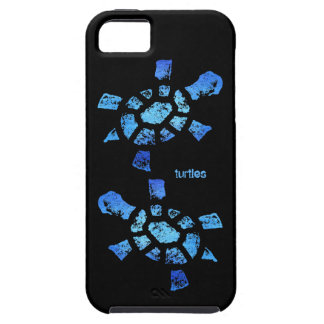 Ambiente de las tortugas del agua azul iPhone 5 carcasa