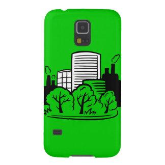 Ambiente de los edificios de Eco Carcasas De Galaxy S5