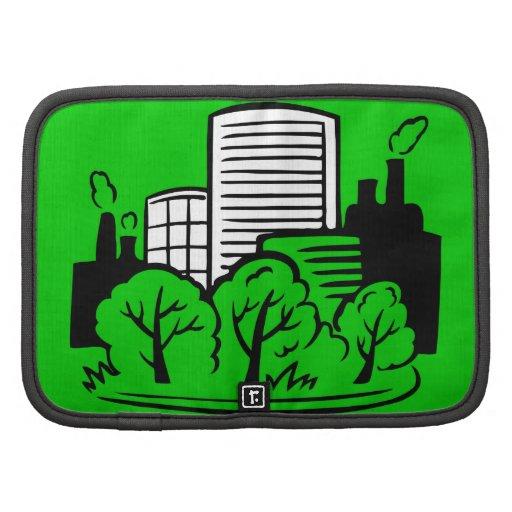 Ambiente de los edificios de Eco Organizador