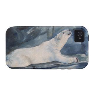 Ambiente de rogación QPC de Iphone 4 del oso polar Case-Mate iPhone 4 Carcasas