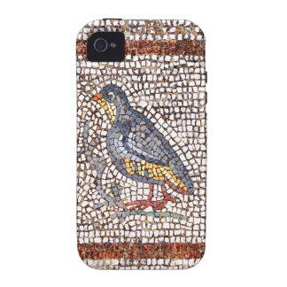 Ambiente del iPhone 4/4S del mosaico del pájaro de iPhone 4 Funda