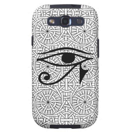 Ambiente egipcio de la galaxia S3 de Samsung del Galaxy S3 Fundas