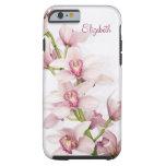 Ambiente floral Ca del caso del iPhone 6 de la Funda De iPhone 6 Tough