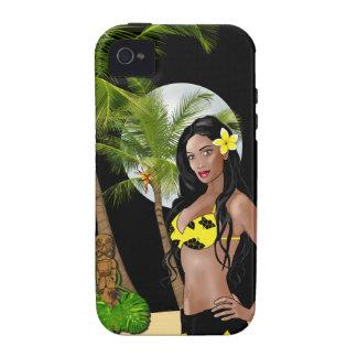 Ambiente modelo hawaiano Univer del iPhone 4/4S de Carcasa iPhone 4
