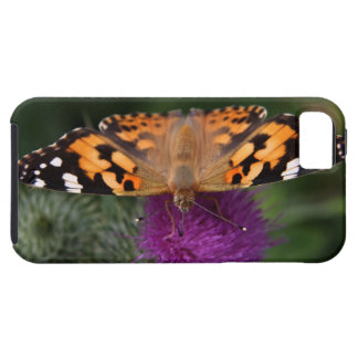 Ambiente pintado de la mariposa de la señora iPhone 5 Case-Mate protector