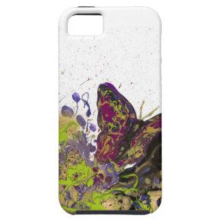 Ambiente salpicado del iPhone 5/5s de la mariposa iPhone 5 Funda