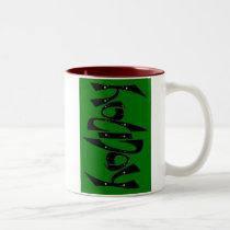 Ambigram Holiday Mug