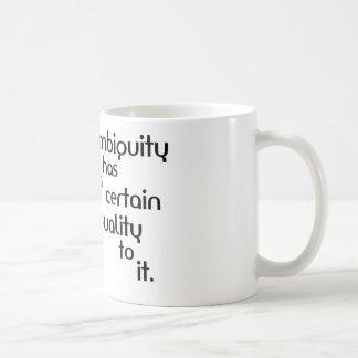 Ambigüedad Tazas De Café