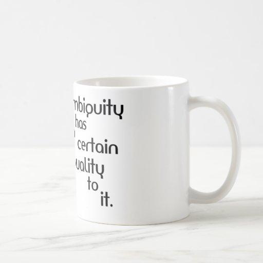 Ambiguity Coffee Mugs