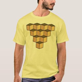Ambiguous cubes illusion T-Shirt