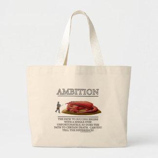 Ambition Fantasy (de)Motivator Large Tote Bag