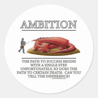 Ambition Fantasy (de)Motivator Sticker