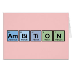 Ambition Greeting Card