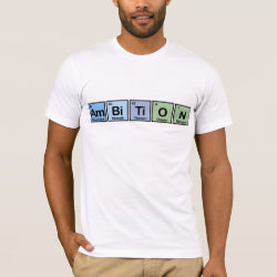 Men's Basic American Apparel T-Shirt with Ambition design