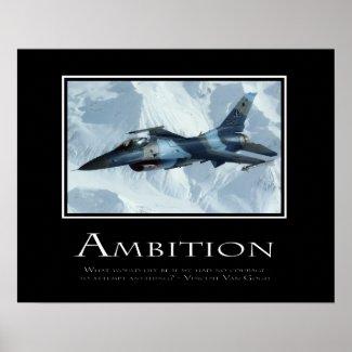 Ambition print
