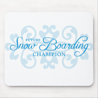 Ambition Snow Boarding Mouse Pad
