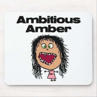 Ambitious Amber Mouse Pad