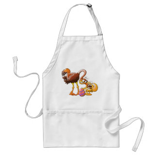 Ambitious Easter Bunny Adult Apron