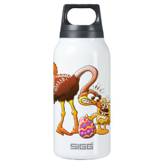Ambitious Easter Bunny Insulated Water Bottle