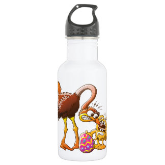 Ambitious Easter Bunny Stainless Steel Water Bottle