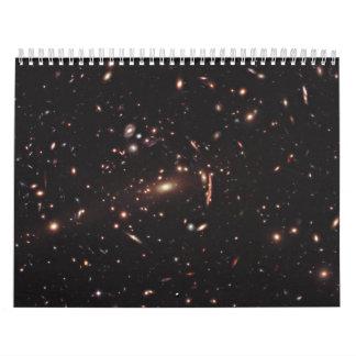 Ambitious Hubble Survey Obtaining New Dark Matter Calendar